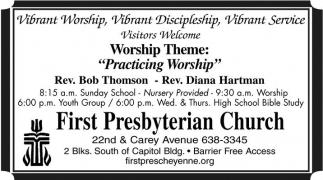 Worship theme: