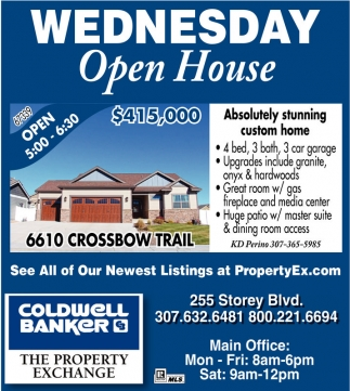 Wednesday Open House