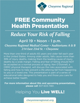 Free Community Health Presentation