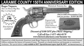 Laramie County 150th Anniversary Edition