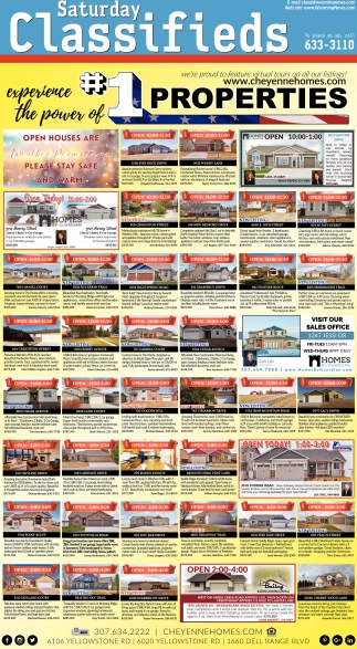 Saturday Classifieds