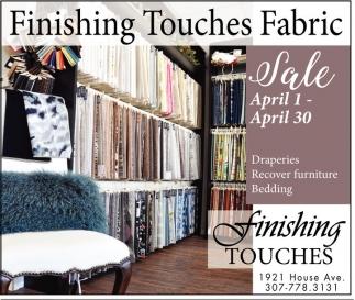 Finishing Touches Fabric