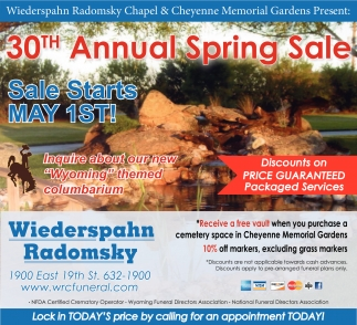30th Annual Spring Sale