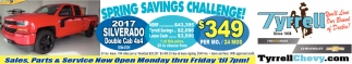 Spring Savings Challenge