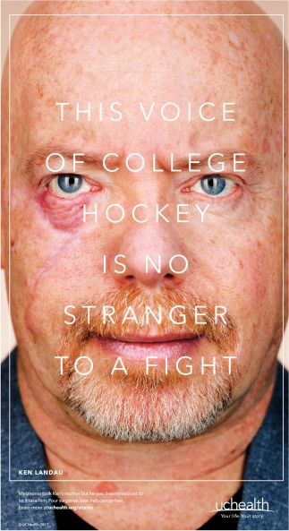 This Voice of College Hockey is no Stranger To A Fight