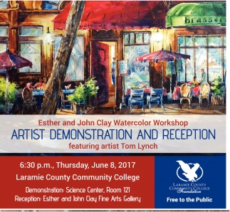 Artist Demonstration and Reception