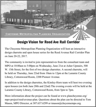 Design Vision for Reed Ave Rail Corridor