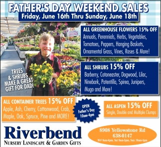Father's Day Weekend Sales