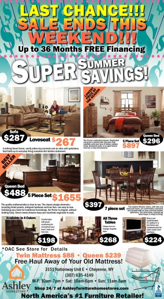 Super Summer Savings!