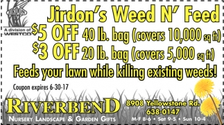 Jirdon's Weed N' Feed