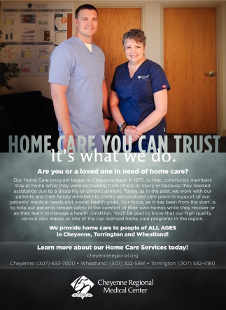 Home Care you can Trust