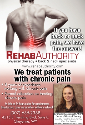 If you have back or neck pain, we have the answer!