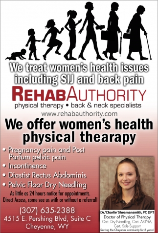 We offer women's health physical therapy