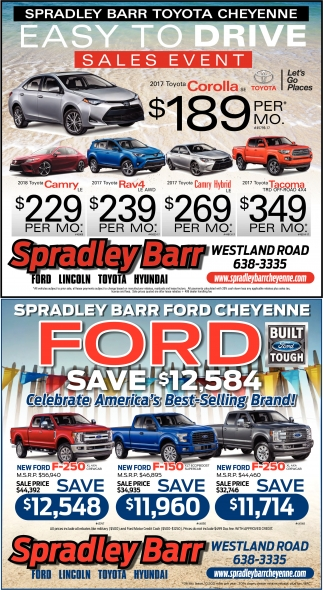 Easy to drive sales event