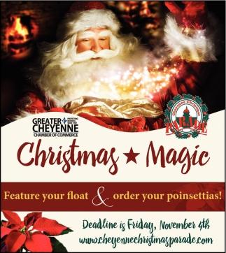 Magic, Cheyenne Christmas Parade