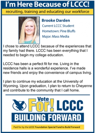 Vote For LCCC!
