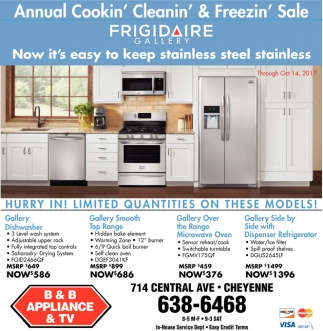 Annual Cookin' Cleanin' & Freezin' Sale