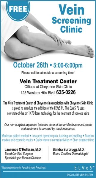 Vein Screening Clinic