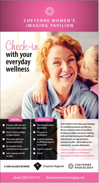 Check-In with your everyday wellness