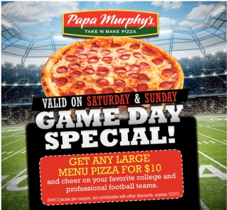 Game Day Special