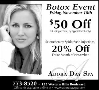 Botox Event