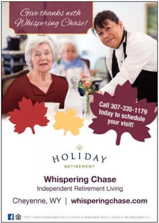 Give Thanks With Whispering Chase!
