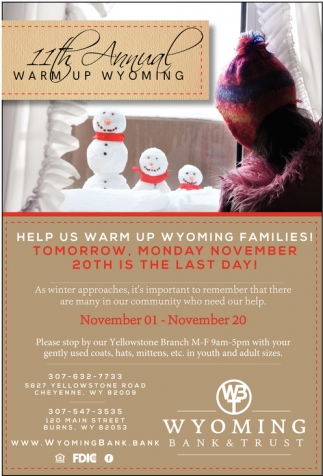 11th Annual Warm Up Wyoming