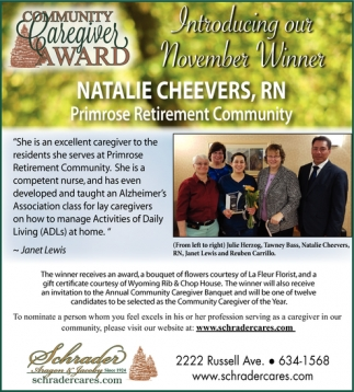 Community Caregiver Award