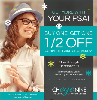 Get more with your FSA!