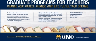 Graduate Programs for Teachers
