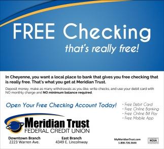 Free Checking