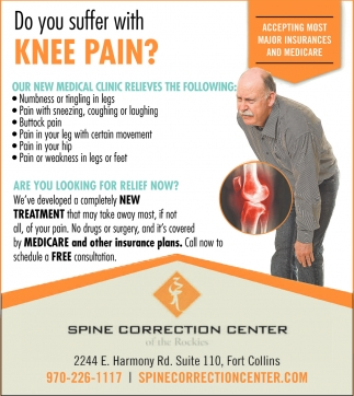 Do you Suffer With Knee Pain?