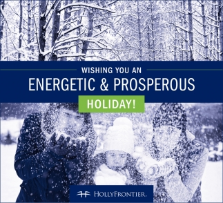 Wishing you an energetic & Prosperous Holiday!