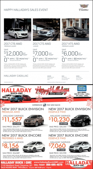 Happy Halladays Sales Event