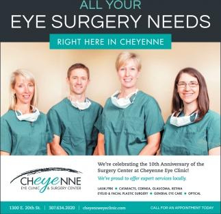 Eye Surgery Needs