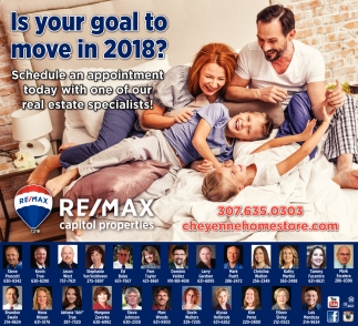 Is your goal to move in 2018?