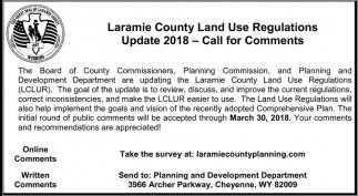 Laramie County Planning