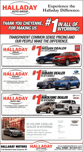 Experience The Halladay Difference