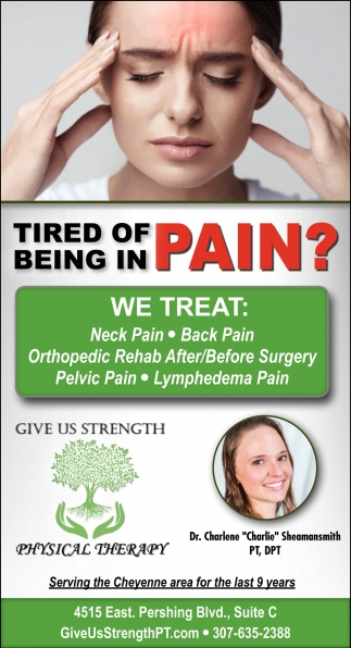 Tired of Living In Pain?