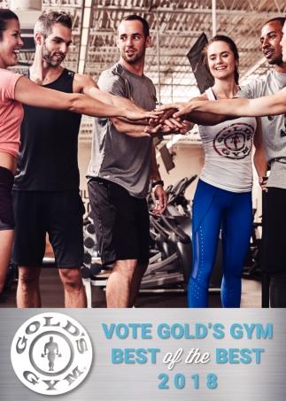 Vote Gold's Gym
