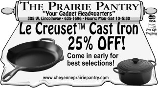 Cast Iron 25% OFF