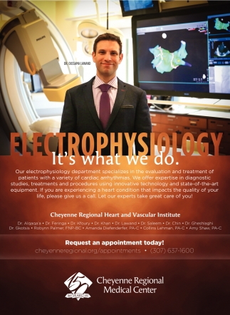 Electrophysiology It's what we do