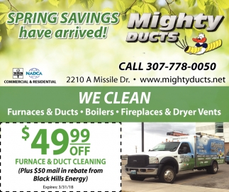Spring Savings have arrived!