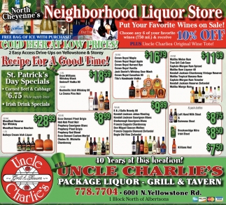 Neighborhood Liquor Store