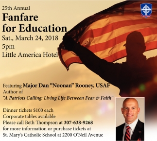 25th Annual Fanfare for Education
