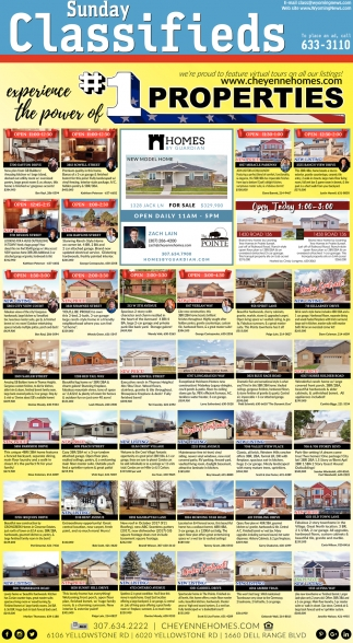 Sunday Classifieds
