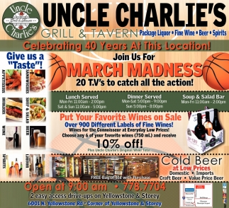 Join us for March Madness