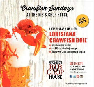 Crawfish Sundays