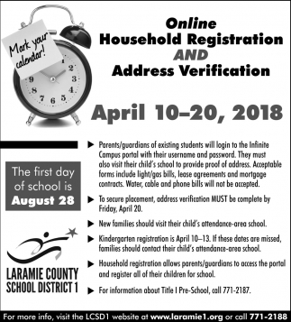 Online Household Registration