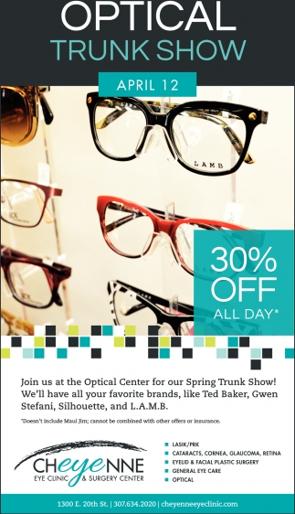 Optical Trunk Show
